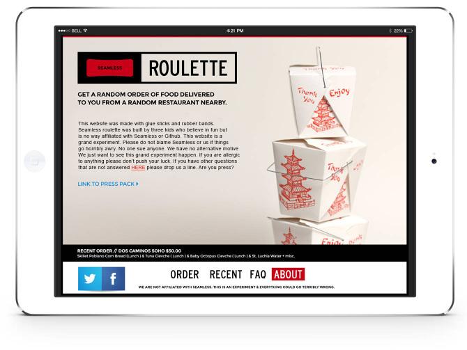 Hookup roulette